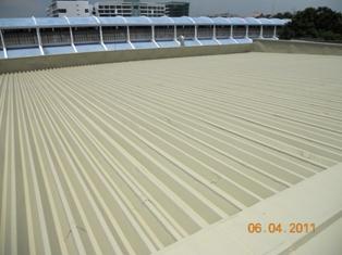 Metal Roof Coating - Waterproofing Contractor Malaysia
